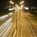 Traffic light in the night — Stock Photo #1707951