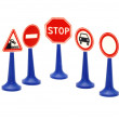 Set road sign — Stock Photo #1752833