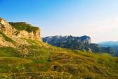 モンテネグロ国立公園の山々 — ストック写真