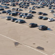Large car parking - Stock Photo