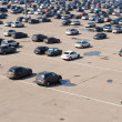 Large parking - Foto Stock