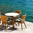 Restaurant tables - Foto Stock