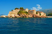 Montenegro Resort Island of Sveti Stefan — Stock Photo