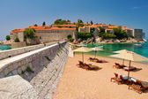 Resort Island of Sveti Stefan — Stock Photo