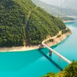 Mountain river in Montenegro — Stock Photo