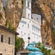 Ostrog monastery in Montenegro - Stock Photo