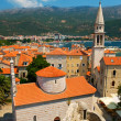 Old town Budva in Montenegro — Stock Photo