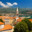 Old town of Budva in Montenegro — Stock Photo