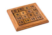 Puzzle with numbers — Stock Photo