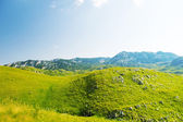 A view of valley Durmitor National Park Montenegro — Stock Photo