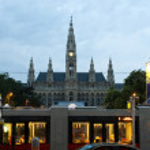 Rathaus in Vienna, Austria — Stock Photo