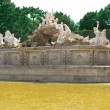Neptun fountain Schonbrunn Palace — Stock Photo