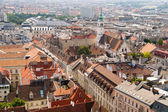 View of the Vienna from Stephansdom — Stock Photo