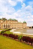 Belvedere Palace — Stock Photo