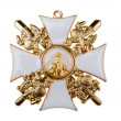 Badge of the Order St Nicholas — Stock Photo
