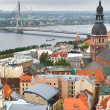 Riga center — Stock Photo