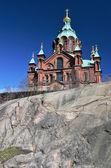 Uspenski Cathedral, 19th-century Eastern Orthodox church buildin — Stock Photo