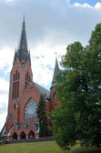Michael's church, Turku, Finland — Stock Photo
