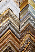 Several frames richly decorated — Stock Photo