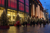 Helsinki, Finland, 25.11.2012, Christmas lights are switched on — Stock Photo