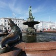 HELSINKI, FINLAND, MARCH 2013: Havis Amanda, a nude female stat — Stock Photo