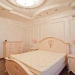 Antique luxury bedroom — Stock Photo #17977341