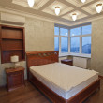 Antique luxury bedroom — Stock Photo #17977347