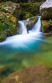 Cascata nel grande canyon, — Foto Stock