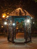 Donetsk city park — Stock Photo