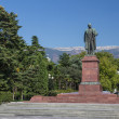 Stock Photo: Lenin Monument In Yalta