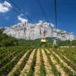 Stock Photo: Ropeway in Yalta
