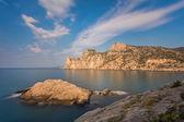 "Rocky coastline of ""Novyi Svet"" — Stock Photo"
