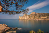 "Rocky coastline of ""Novyi Svet"" — Стоковое фото"