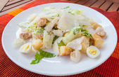 The Caesar salad — Zdjęcie stockowe