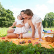 Happy Family picnicking in the park — Stock Photo #36459355