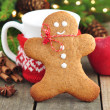 gingerbread man&quot — Stock Photo