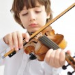 Stock Photo: Boy playing the violin
