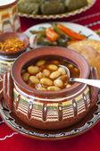 Bulgarian baked beans — Stock Photo