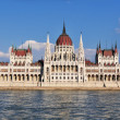 Hungarian Parliament in Budapest — Stock Photo