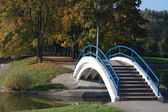 Park in gold fall — Stock Photo