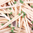 Stock Photo: Many scattering of matches