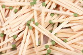 Many scattering of matches — Stock Photo