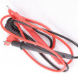 Stock Photo: Red and Black Leads