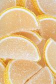 Yellow Fruit Jelly — Stock Photo