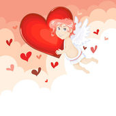 Cute cupid — Stock Vector
