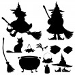Halloween icon , vector set — Stock Vector