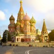 Stock Photo: St Basil's Cathedral on Red Square, Moscow, Russia