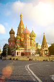 St Basil's Cathedral on Red Square, Moscow, Russia — Stock Photo