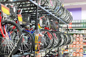 Bikes in the shop — Stock Photo