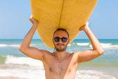 Surfer man — Stock Photo